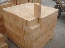 Alumina Fire Resistant Fireproof Brick, Size: 9 In. X 4 In. X 3 In