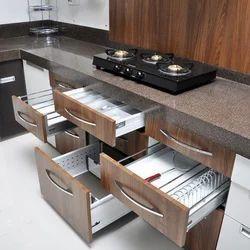 Modular Kitchen Drawer Fittings Service