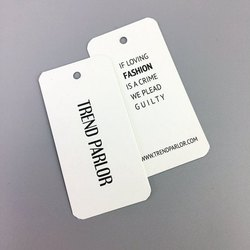 Garment Printed Tag