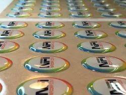 Polyurethane Dome Stickers