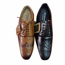 Black, Brown Bozzini Footwear Mens Designer Shoes, Size: 6-10, Packaging Type: Box