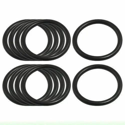 Black Natural Rubber Rubber Gaskets, Shape: Ring Gasket, Packaging Type: Packet
