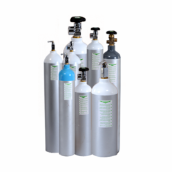 Aluminium Industrial Gas Cylinder