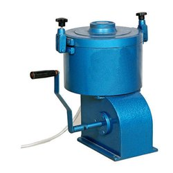 Bitumen Extractor/Centrifuge Extractor: Hand Operated
