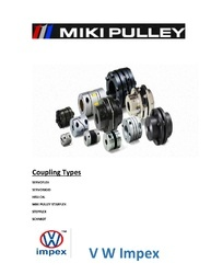 Motor Pulley Stainless Steel(SS) Miki Pulley, Multi-Groove