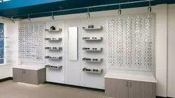 Optical Showroom Designing, Retail Shop Interior