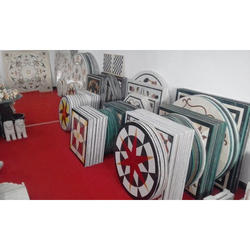 Polished Printed Marble Tile, Thickness: 16 Mm