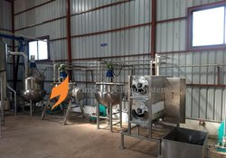 Automatic Tomato Processing Plants, Capacity: 100 kg