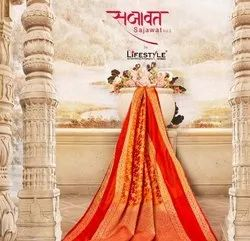 Lifestyle Sarees Sajawat Vol 2 Rich Pallu Silk Saree Beautiful Collection