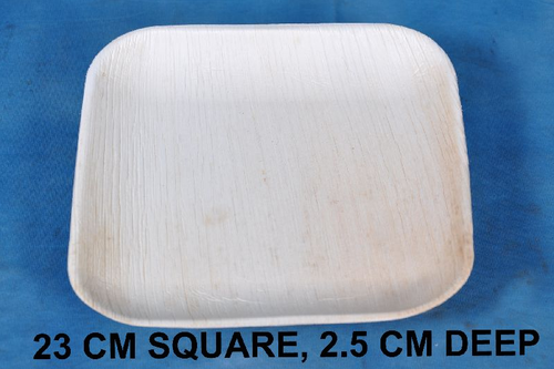 23 Cm Square With 2.5 Cm Deep Plate