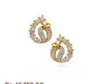 0a5d8d9cf6563 GRT Jewellers, Madurai - Retailer of The Aura Della Gold Earrings ...