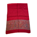 Red Embroidered Ladies Stole