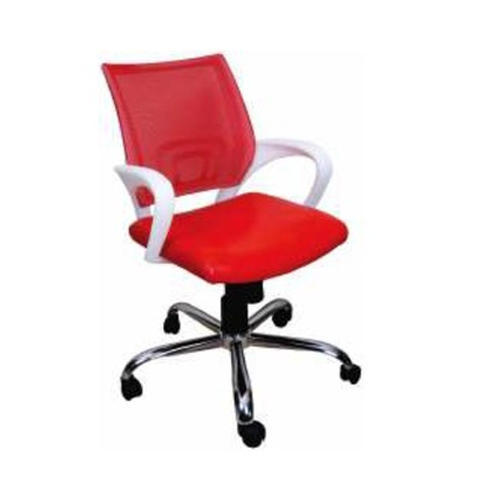 red leather office chair. Red Leather Official Chair Office