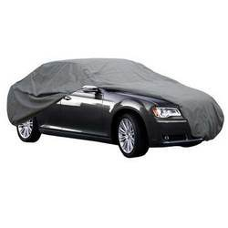 Polyester Fabric Black Car Body Cover