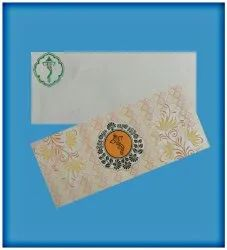 Paper Glossy Invitations Card
