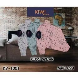 Casual Wear Kids Printed Cotton Shirt, Size: 4-16 Year