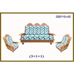 Carved Wood Sofa Set, for Home