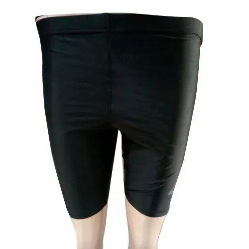 big sale footwear on wholesale Black Mens Lycra Gym Tight Short
