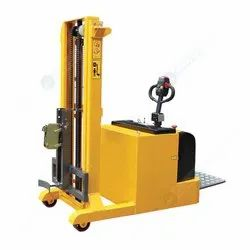Counter Balance Full Electric Drum Stacker