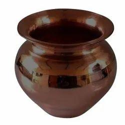 AMW Round Copper Lota