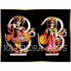 Om Radha Krishna Statues