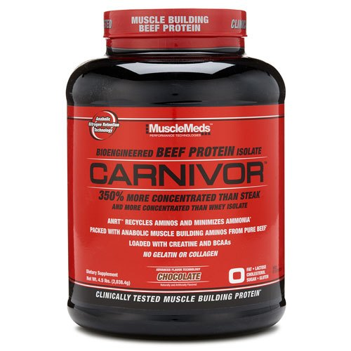 Muscle Meds MuscleMeds Carnivor Beef Protein Isolate Powder, Packaging Type: Plastic Container ,packaging Size: 4.5 Lbs