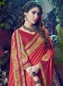 Designer Paper Silk Indian Women Saree