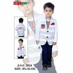 Boys Stylish  Party Wear Suit (Set of 10)