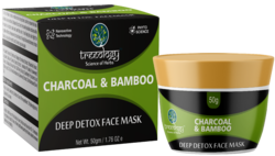 Charcoal Bamboo Deep-Detox Face Mask