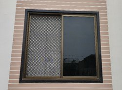 Aluminium Powder Coating 3 Track Aluminum Sliding Window