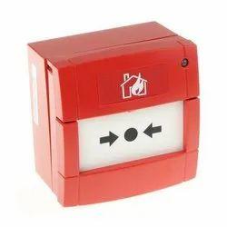 Plastic Fire Alarm Control Panel Red Fire Alarm