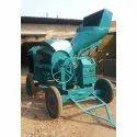 Reversible Hydraulic Concrete Mixer