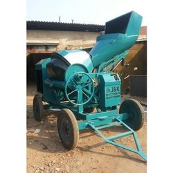 Reversible Hydraulic Concrete Mixer