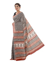 Cotton Bagru Print Saree