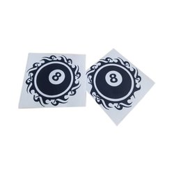 Vinyl Adhesive Stickers, Packaging Type: Packet