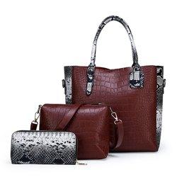 Pu Leather Shoulder Women Handbags, For Casual Wear