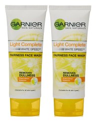 Chemical White Garnier Light Complete Face Wash, Cream, Packaging Size: 50gm
