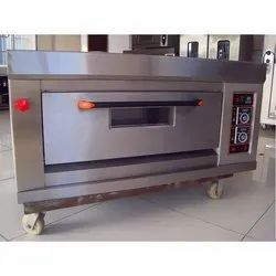 Indian Single Deck Two Tray Oven Gas