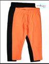 Aeronaughty Leggings Pack Of 2 Black And Orange