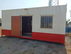 Fabricated used shipping container