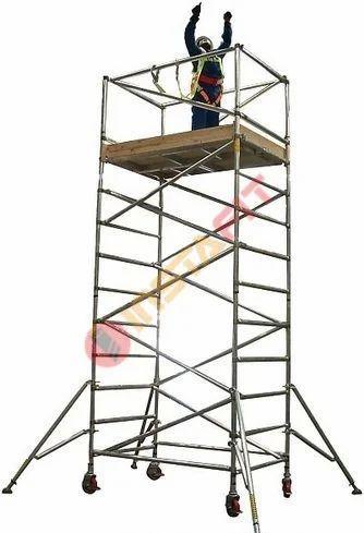 Instafit Silver Aluminum Scaffolding Ladders