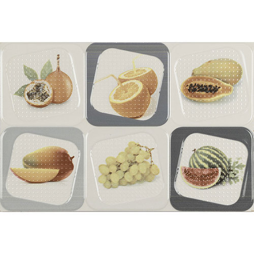 Fruit Design Kitchen Wall Tile 8 10 Mm Rs 35 Square Feet Id