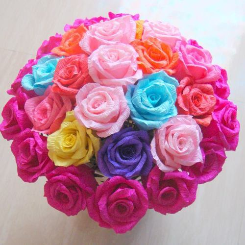 Lovely flower for you ecommerce shop online business of paper product image read more paper flowers mightylinksfo