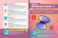 Mathematics Sem - 1 Multivariable Calculus-I Book