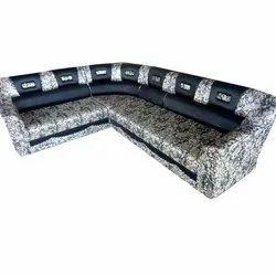 Modern 8 Seater L Shape Sofa Set, Living Room, Back Style: Tight Back