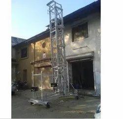 Aluminium Square Type Tiltable Tower Ladder