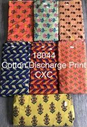 Cotton Discharge Print Fabric