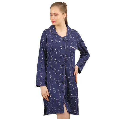 efffd4d324 3/4 Sleeve Clifton Women's Long Top Night Wear, Rs 450 /piece   ID ...