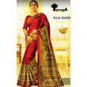 Ladies Party Wear Silk Saree
