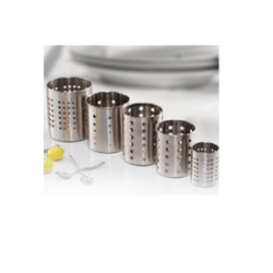 Stainless Steel Cutlery Holder, Size: 6.5 X 9 cm
